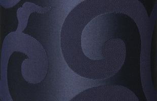 金襴生地の唐草文様・紺(からくさもんよう)サイドスタンド柄全体